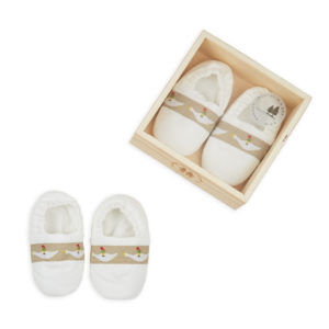 Booties in a box – White