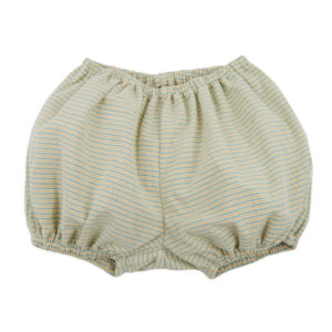 Bloomers in a Box – Green + Yellow Stripe