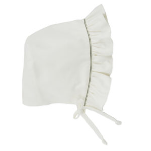Reversible Bonnet in a Box – White
